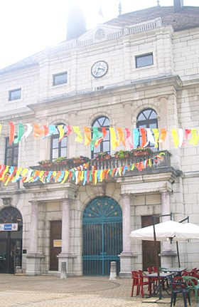 Mairie de Moirans-en-Montagne