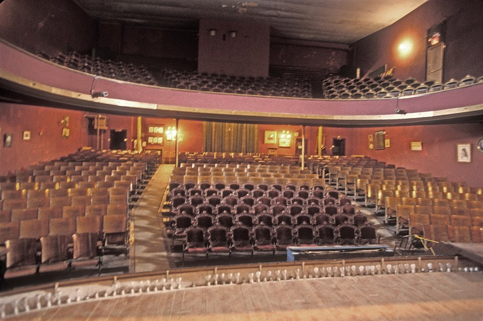 INTERIOR OF TABOR OPERA HOUSE, LEADVILLE HISTORIC DISTRICT