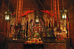 INTERIOR VIEW OF WEAVERVILLE JOSS HOUSE CALIFORNIA STATE HISTORIC PARK.jpg