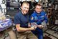 ISS-47 Tim Peake and Alexey Ovchinin in the Destiny lab.jpg