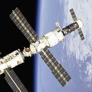 Salyut programme - DOS-8 (Zvezda ISS module).