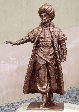 İbrahim Peçevi - Statue in Pécs