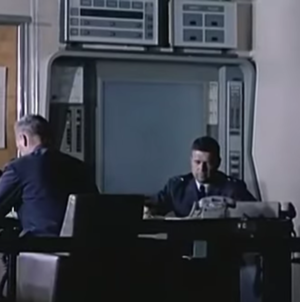 Iconorama - Iconorama display unit at Strategic Air Command HQ, Offut Air Force Base, in 1964.
