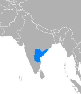 Telugu language Dravidian language