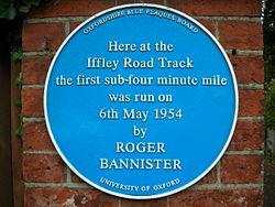 Image result for roger bannister runner