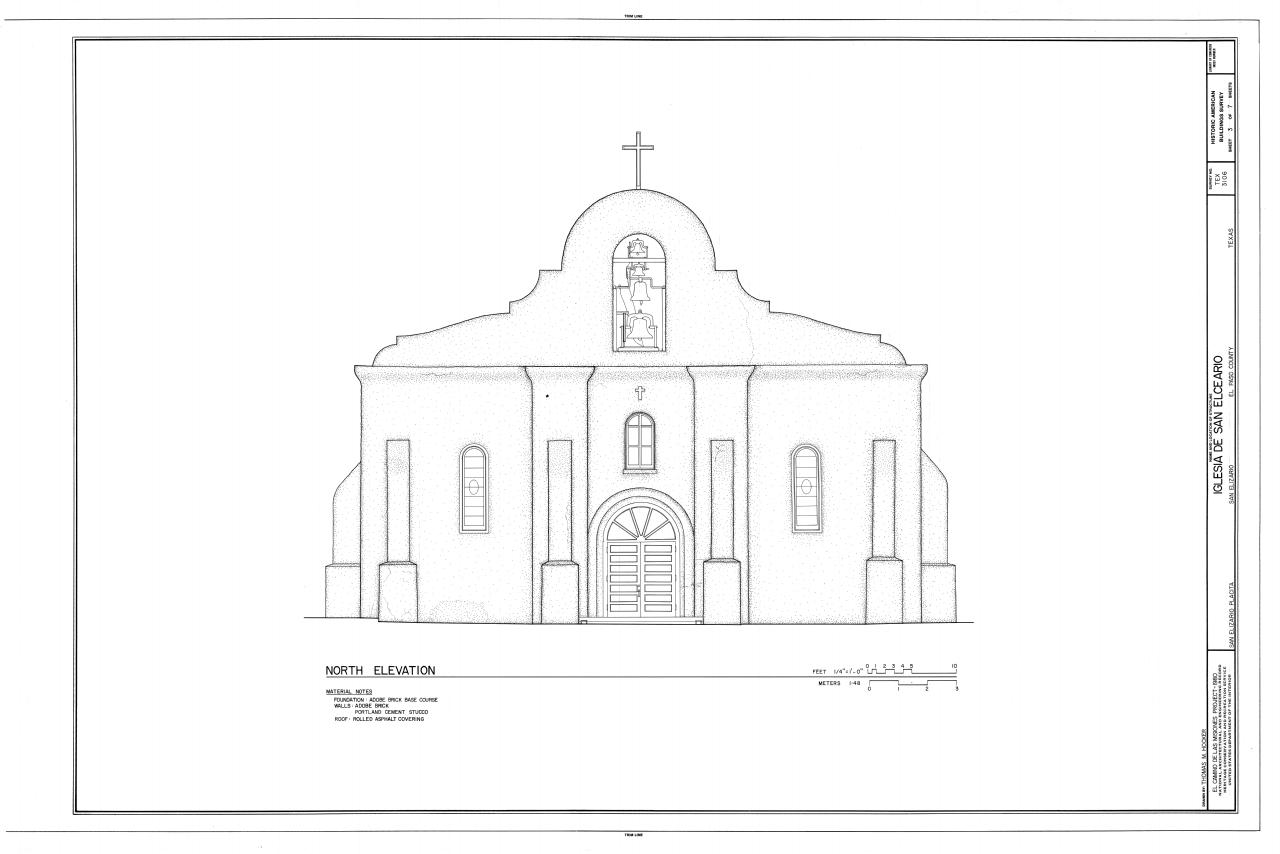 File Iglesia De San Elceario South Side Of San Elizario
