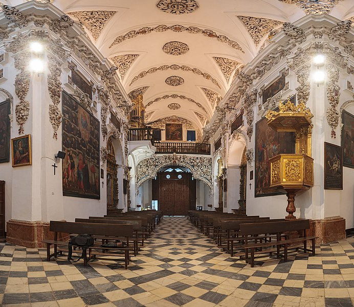 5h place: Church of Saint John of God, Antequera.