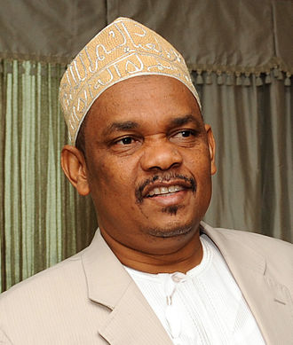 Comoros - Ikililou Dhoinine, President of Comoros from 2011 to 2016