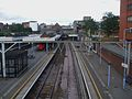 Ilford station fast high eastbound.JPG