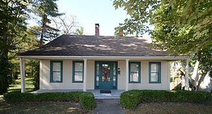National Register of Historic Places listings in Montgomery County, Illinois - Image: Image Blackman Evans House