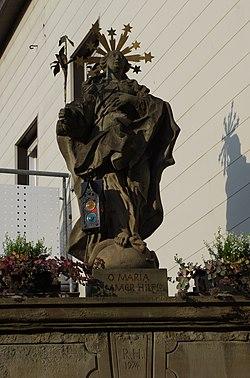 Immaculata Mainstraße 4 Bergrheinfeld detail.JPG