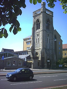 Immanuel and St. Andrew Church, Streatham High Road. - geograph.org.uk - 26522