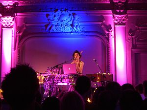 Bush Hall - Image: Imogen Heap Bush Hall 2005