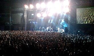 Incubus (band) - Incubus concert in Stadium Negara of Kuala Lumpur, Malaysia on 23 July 2011.