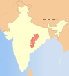 India Chhattisgarh locator map.svg
