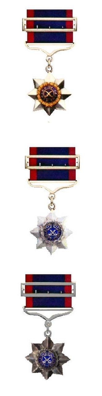 Indian Order of Merit - Indian Order of Merit, First Second and Third Classes