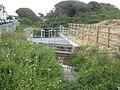 Inlet trash screen at Flexbury Park - geograph.org.uk - 1450278.jpg