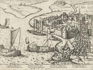 Capture of Geertruidenberg (1573) - Image: Inname van Geertruidenberg 1573