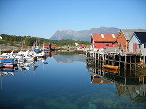 Gildeskål - View of Inndyr