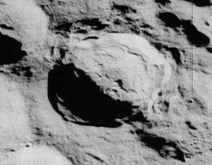 Innes (crater) - Apollo 16 mapping camera image