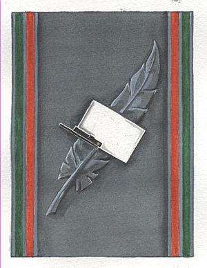 Képi Blanc (publication) - Image: Insigne KB 60 ans
