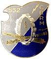 Insigne régimentaire 552° compagnie renforcée de réparation du matériel - fabrication Drago Paris G. 2357.jpg