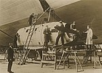 Inspecting the R100 Airship at Howden 1933 (archive ref DDX1017-1) (25403982913).jpg