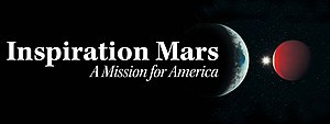 Inspiration Mars Foundation - Image: Inspiration Mars Banner Graphic jpeg