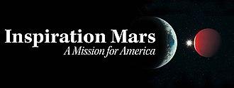 Inspiration Mars Foundation - Image: Inspiration Mars Banner Graphic jpeg