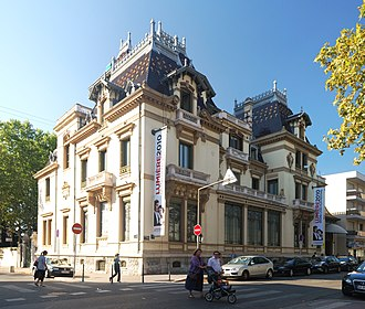 Cinematograph - The Institut Lumière in Lyon, France