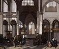 Interior of the Oude kerk in Amsterdam (south nave), by Emanuel de Witte.jpg