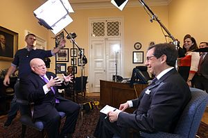 Chris Wallace - Wallace interviews Maryland governor Larry Hogan in 2015.