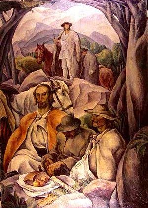 """Ion Theodorescu-Sion - Străjerii (""""The Guards"""", 1925)"""