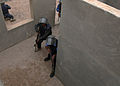 Iraqi police students practice clearing a building at the police academy in Basra, Iraq, April 20, 2011 110420-A-YD132-147.jpg