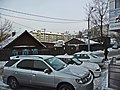 Irkutsk. February 2013. Cinema Barguzin, regional court, bus stop Volga, Diagnostic Center. - panoramio (52).jpg