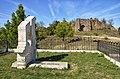 Ishëm Castle & Grave of Ibrahim Kodra, Albania 2019 01.jpg