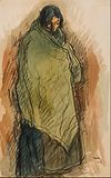Isidre Nonell - Gypsy Standing - Google Art Project (598357).jpg