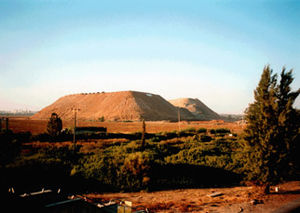 Ariel Sharon Park - Hiriya waste mountain