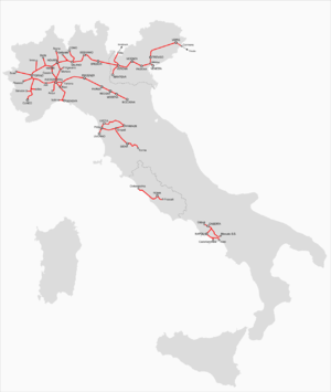 History of rail transport in Italy  Wikipedia