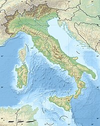 Location map Italy is located in Italy