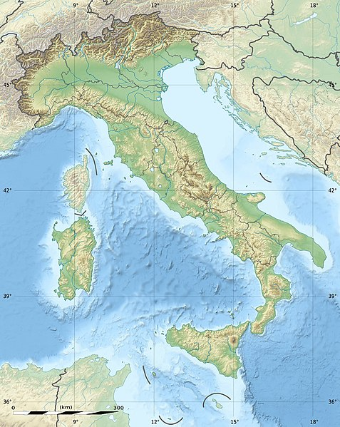 Fichièr:Italy relief location map.jpg