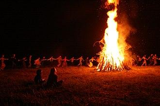 Slavic Native Faith in Russia - Celebration of Kupala Night.