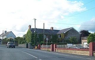 Nobber Village in Leinster, Ireland