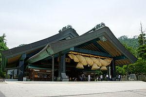 Shimenawa - Image: Izumo taisha 01nt 3200