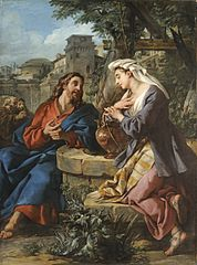 Jesus and the Samaritan Woman