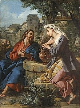 Rencontre de jesus et la samaritaine