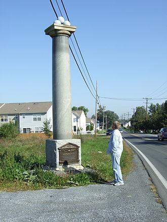 J. Johnston Pettigrew - Monument