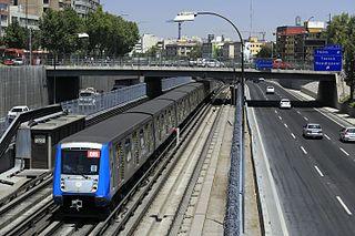 Santiago Metro Line 2