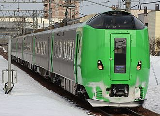 Lilac (train) - A 789 series EMU on a Lilac service in March 2017