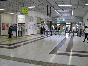 Higashi-Funabashi Station - Image: JR Higashifunabashi sta 001